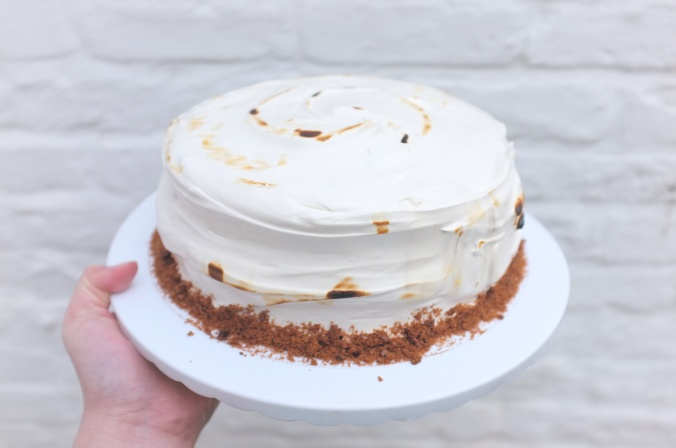 S'mores cake.