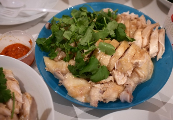 Hainanese Chicken Rice.Thank you Crys!
